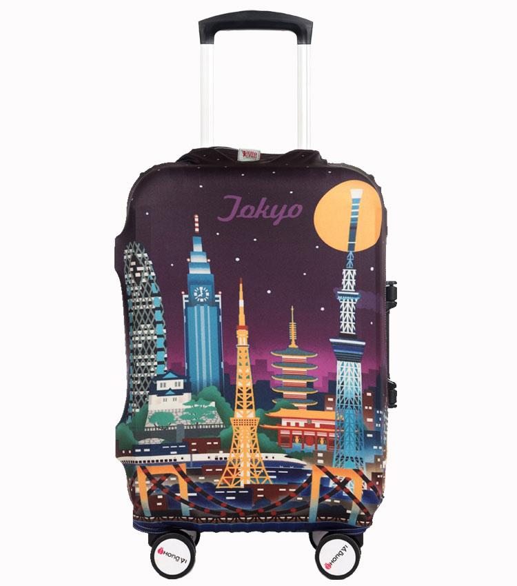 Чехол на чемодан Little Chili Tokyo ~M~ (55–67 см)