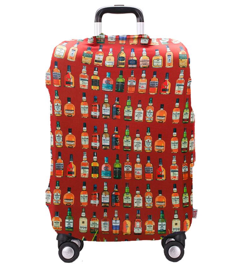 Чехол на чемодан Little Chili Whiskey ~L~ (62–76 см)