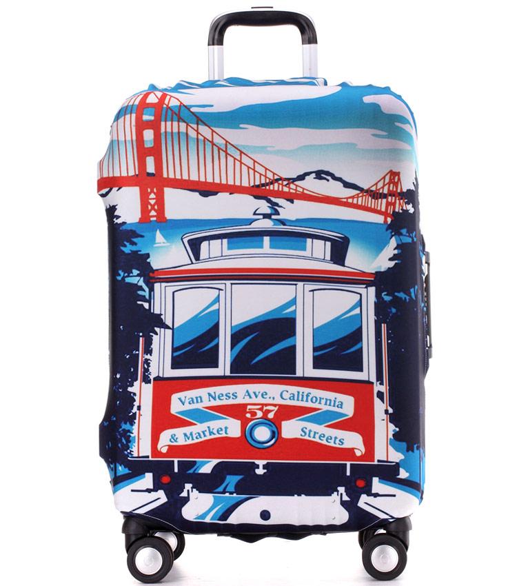 Чехол на чемодан Little Chili California ~L~ (62–76 см)