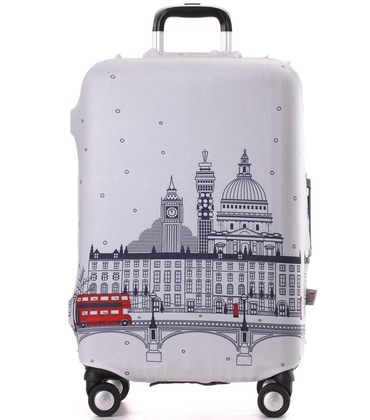 Чехол на чемодан Little Chili London ~L~ (62–76 см)