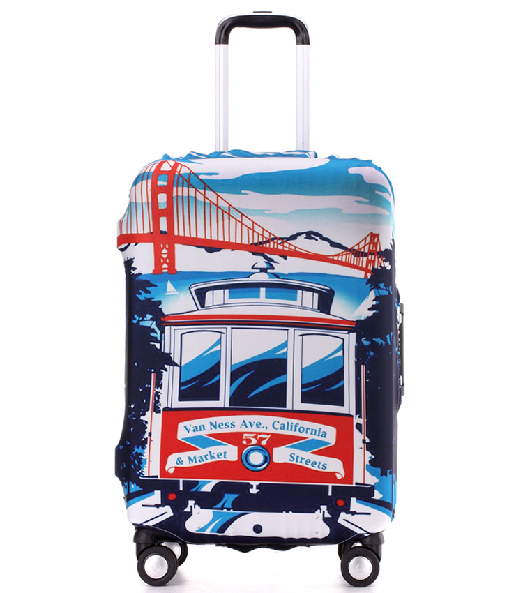 Чехол на чемодан Little Chili California ~M~ (55–67 см)