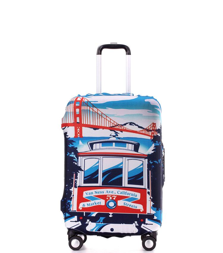 Чехол на чемодан Little Chili California ~S~ (48–56 см)