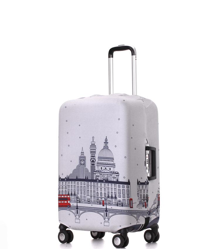 Чехол на чемодан Little Chili London ~S~ (48–56 см)