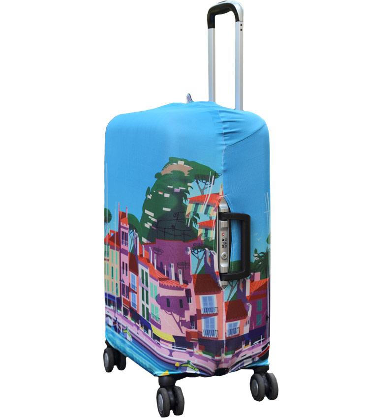 Чехол на чемодан Little Chili Sunny City ~L~ (62–76 см)