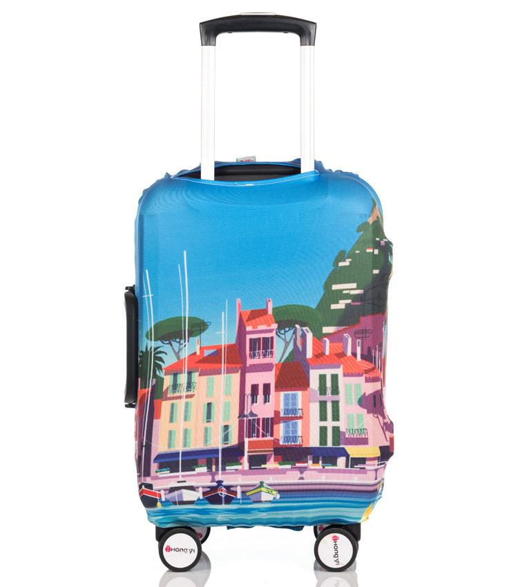 Чехол на чемодан Little Chili Sunny City ~S~ (48–56 см)