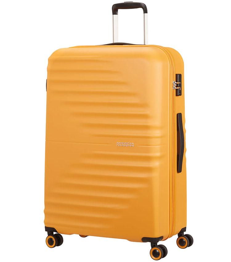 Большой чемодан American Tourister Wavetwister MA0*06003 (77 см) - Sunset Yellow