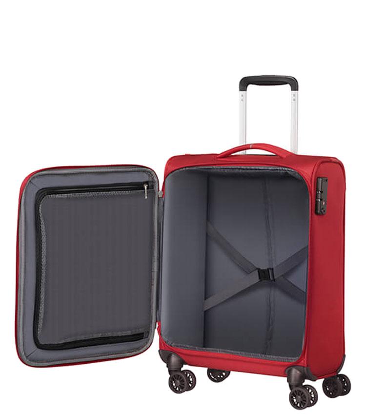 Малый чемодан American Tourister CROSSTRACK MA3*10002 (55 см) ~ручная кладь~ Red/Grey