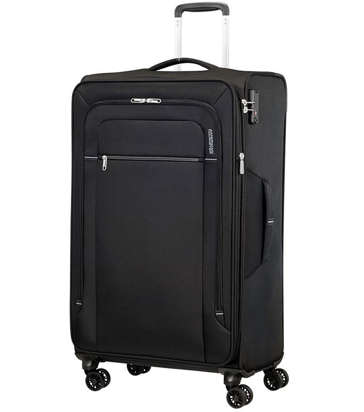 Большой чемодан American Tourister CROSSTRACK MA3*19004 (79 см) - Black/Grey