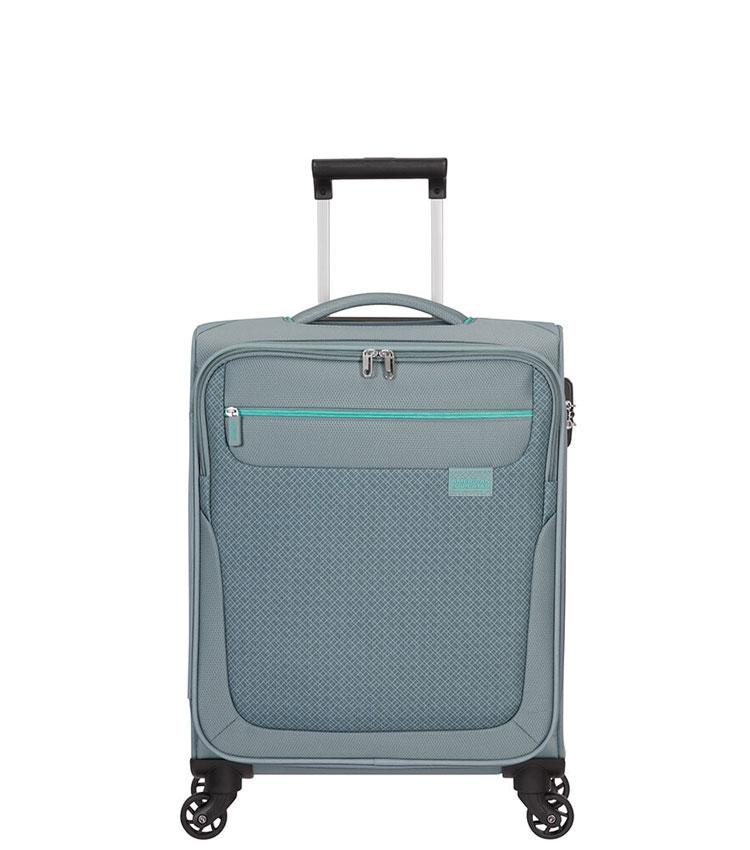 Малый чемодан American Tourister SUNNY SOUTH MA9*08002 (55 см) ~ручная кладь~ Grey