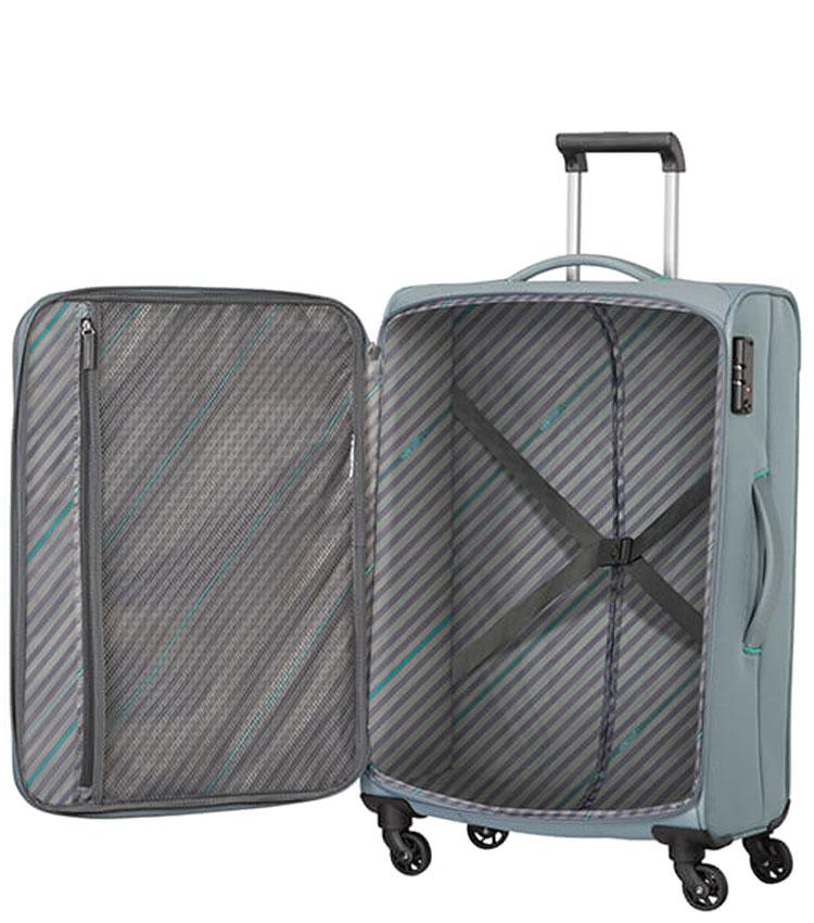 Средний чемодан American Tourister SUNNY SOUTH MA9*08003 (67 см) - Grey