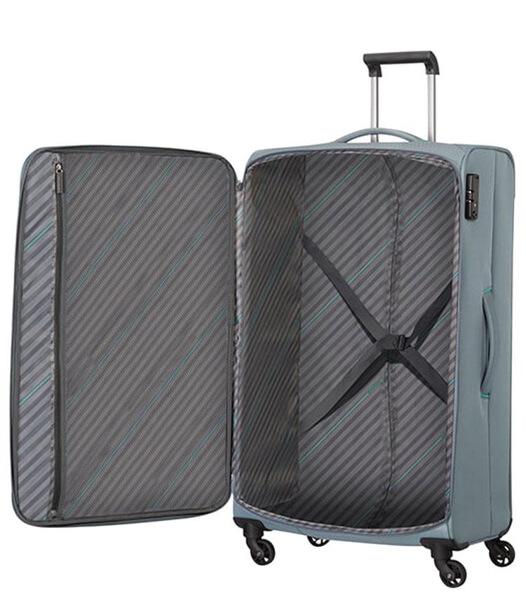 Большой чемодан American Tourister SUNNY SOUTH MA9*08004 (79 см) - Grey