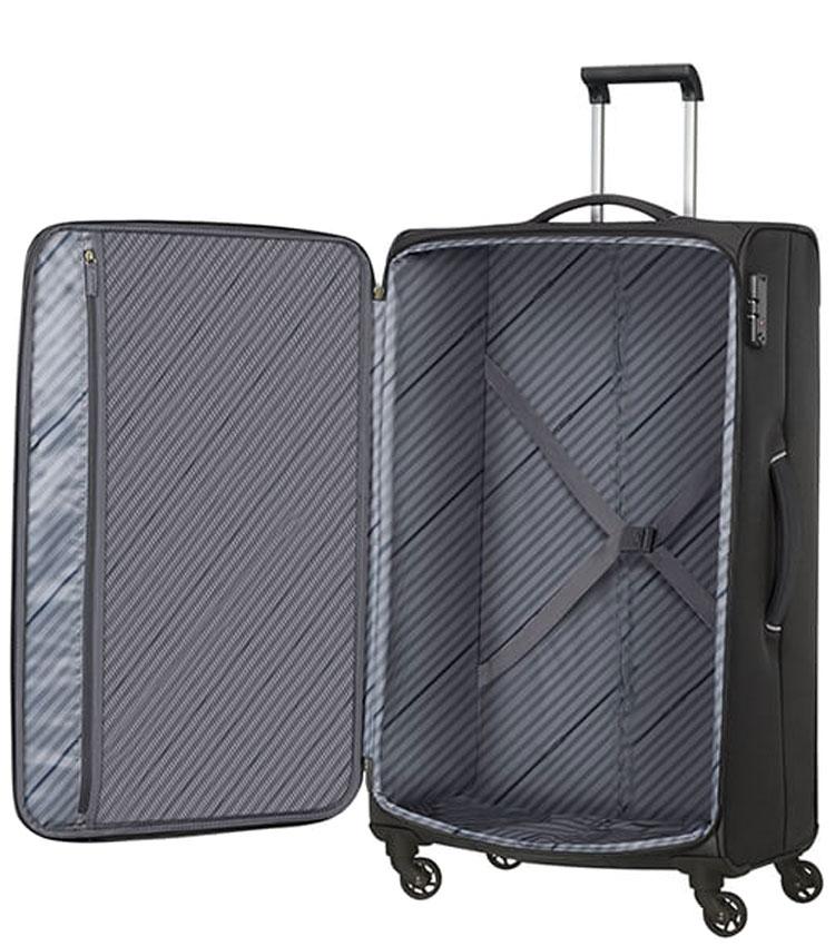 Большой чемодан American Tourister SUNNY SOUTH MA9*09004 (79 см) - Black