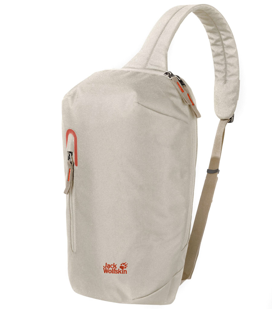 Рюкзак слинг Jack Wolfskin MAROUBRA SLING BAG Dusty Grey