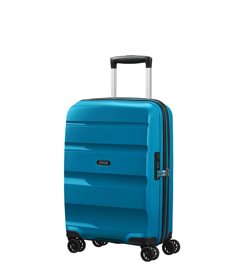 Малый чемодан American Tourister BON AIR DLX MB2*01001 (55 см) ~ручная кладь~ Seaport Blue
