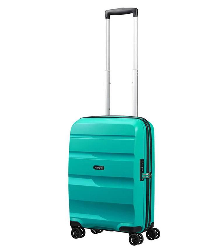 Малый чемодан American Tourister BON AIR DLX MB2*21001 (55 см) ~ручная кладь~ Deep Turquoise