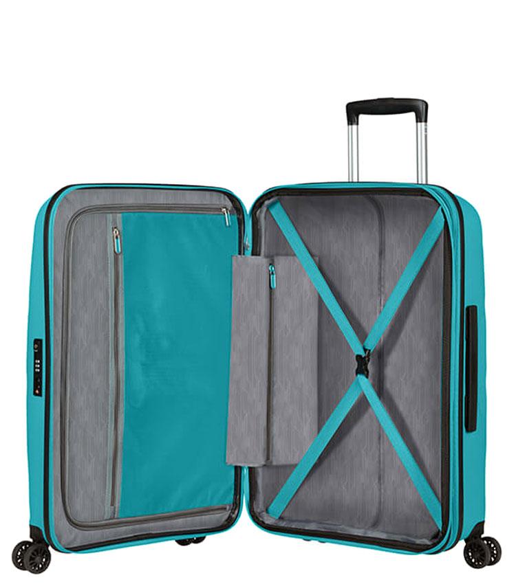 Средний чемодан American Tourister BON AIR DLX MB2*21002 (66 см) - Deep Turquoise