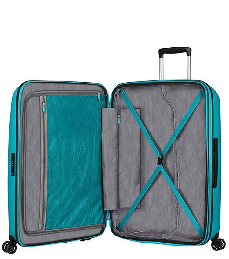 Большой чемодан American Tourister BON AIR DLX MB2*21003 (75 см) - Deep Turquoise