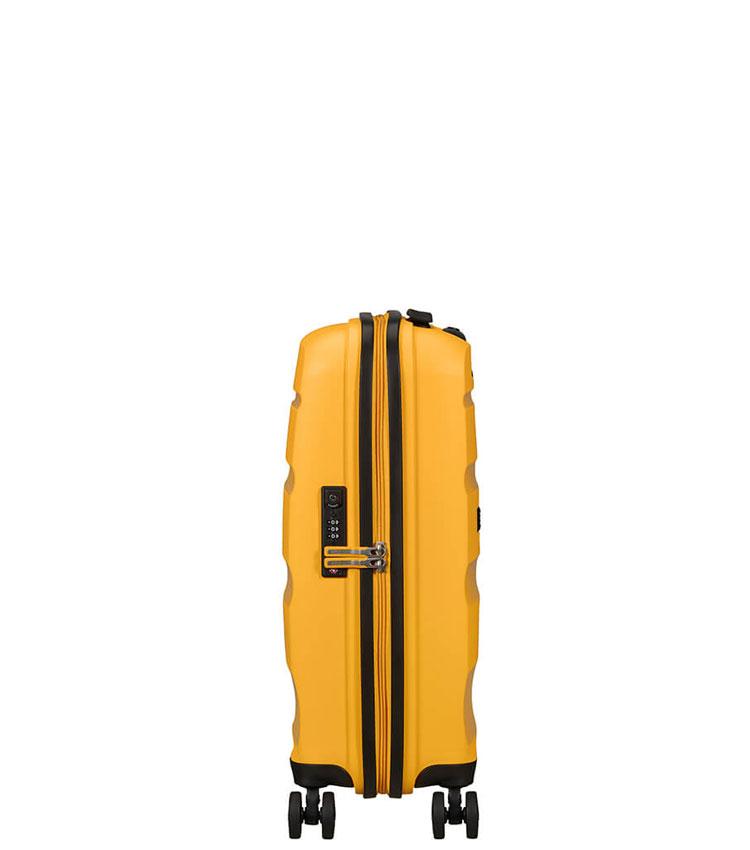 Малый чемодан American Tourister BON AIR DLX MB2*26001 (55 см) ~ручная кладь~ Light Yellow