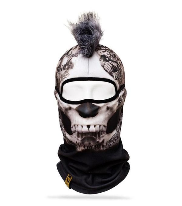 Балаклава PRIMO Mohawk Crime-Skull