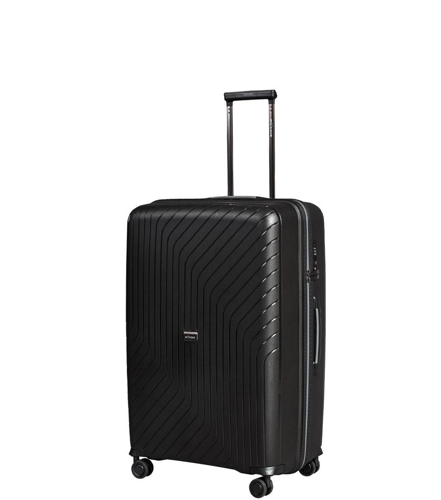Малый чемодан L-case MADRID black ~ручная кладь~