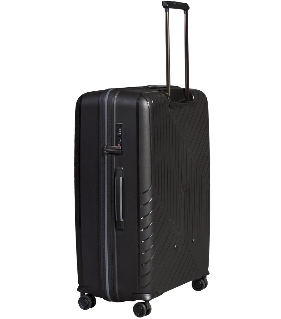 Большой чемодан L-case MADRID black