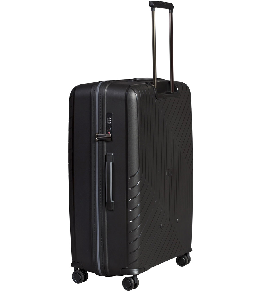 Средний чемодан L-case MADRID black