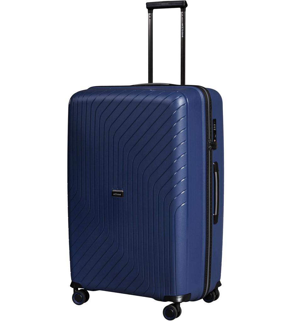 Средний чемодан L-case MADRID blue