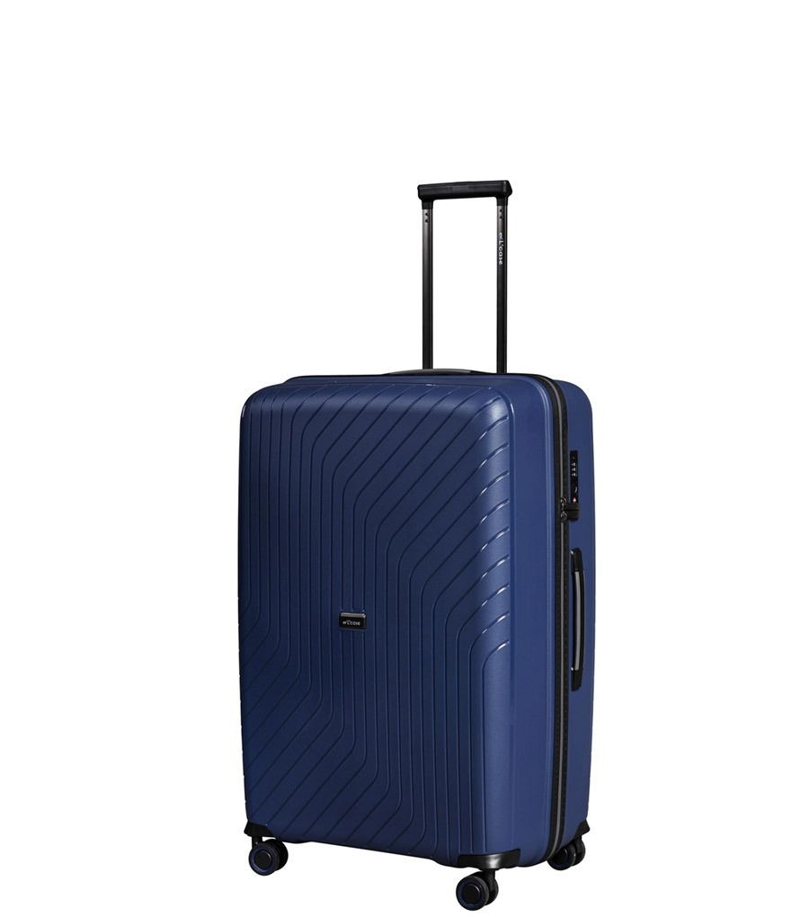 Малый чемодан L-case MADRID blue ~ручная кладь~
