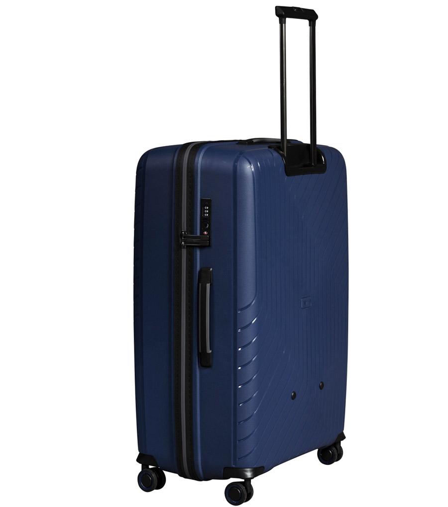 Большой чемодан L-case MADRID blue