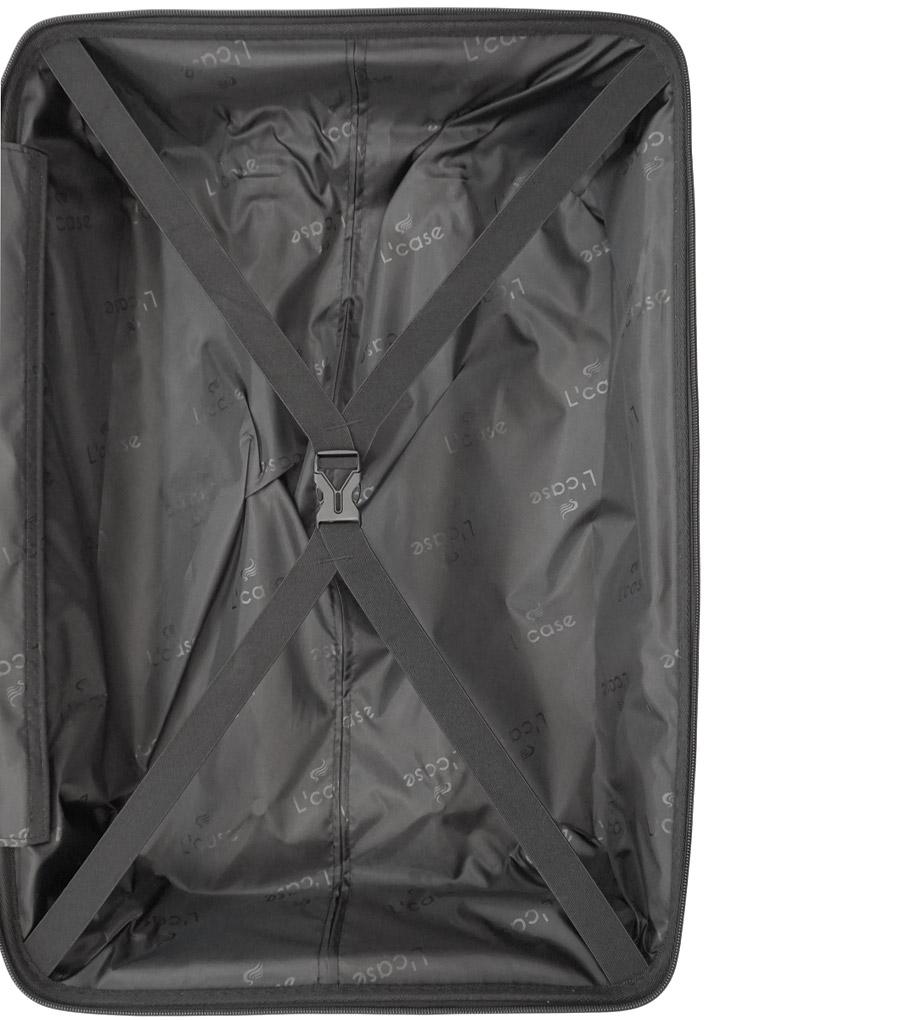 Малый чемодан L-case MADRID grey ~ручная кладь~