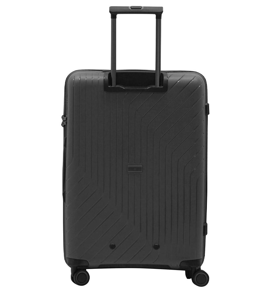 Средний чемодан L-case MADRID grey