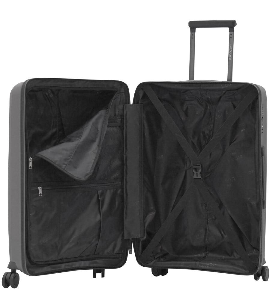 Средний чемодан L-case MADRID yellow