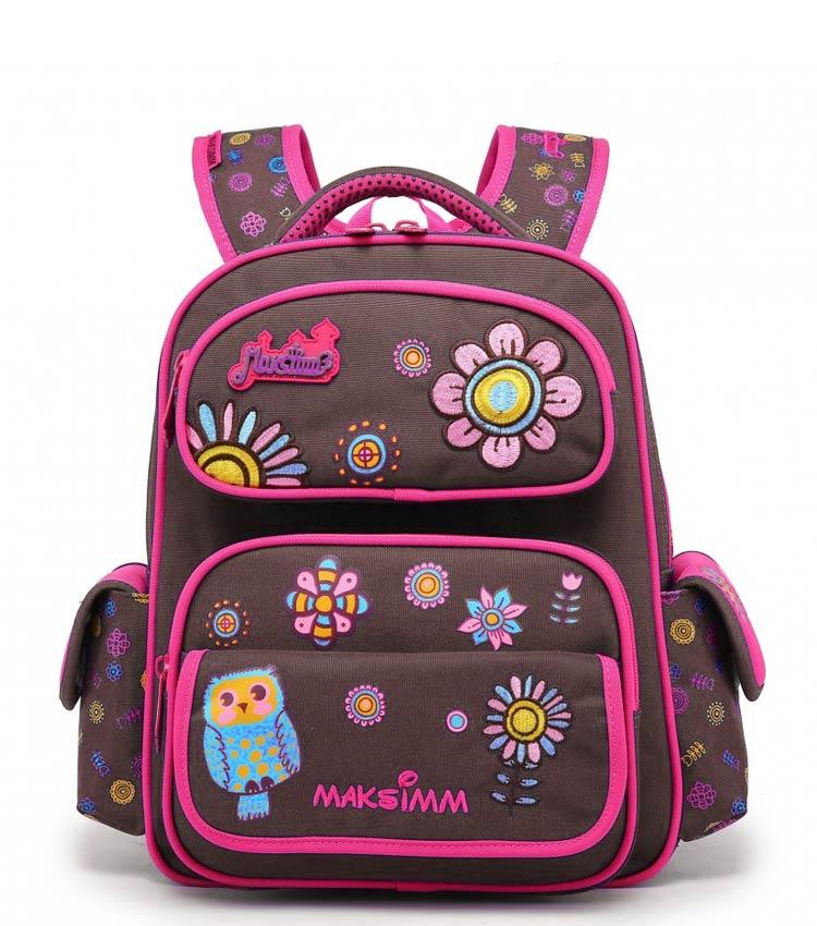 Школьный рюкзак Maksimm С002 Brown