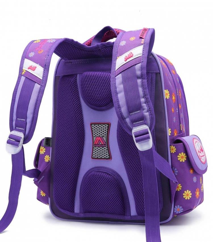 Школьный рюкзак Maksimm С013 purple-pink