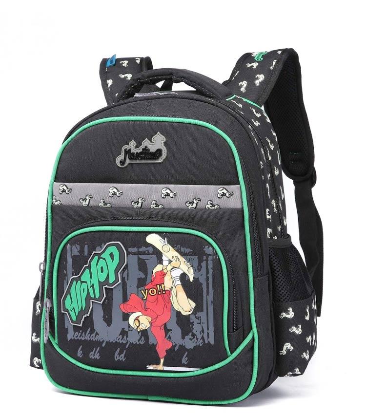 Школьный рюкзак Maksimm С022 black-green