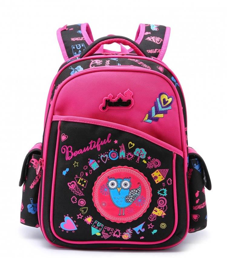 Школьный рюкзак Maksimm С025 black-pink