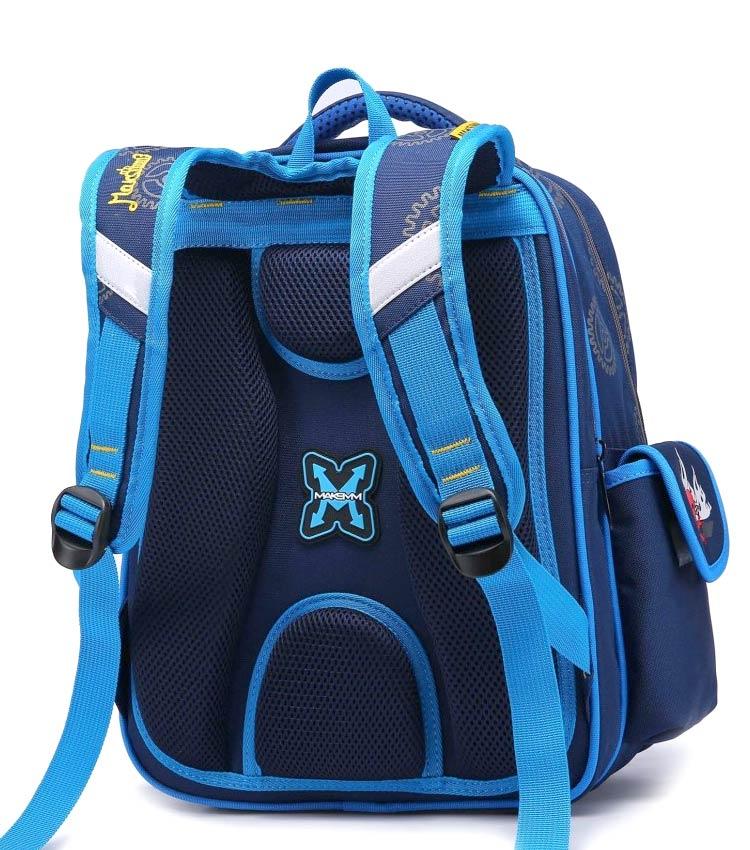 Школьный рюкзак Maksimm С057 brown-orange