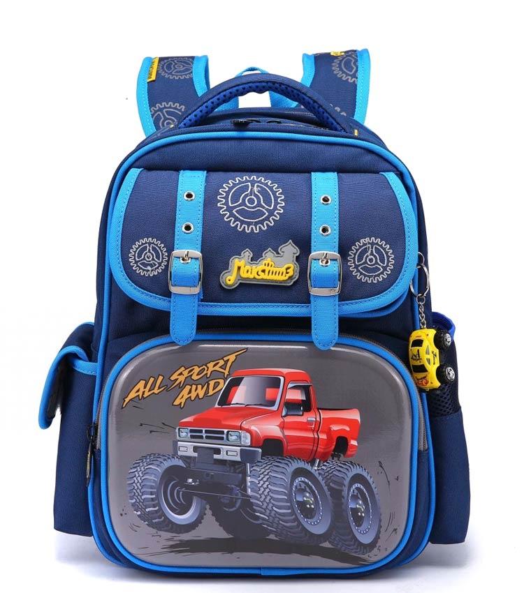 Школьный рюкзак Maksimm С057 blue