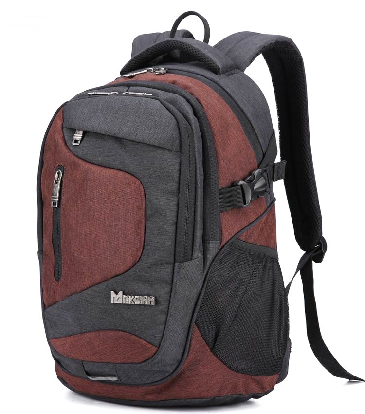 Рюкзак Maksimm E032 d.gray-brown