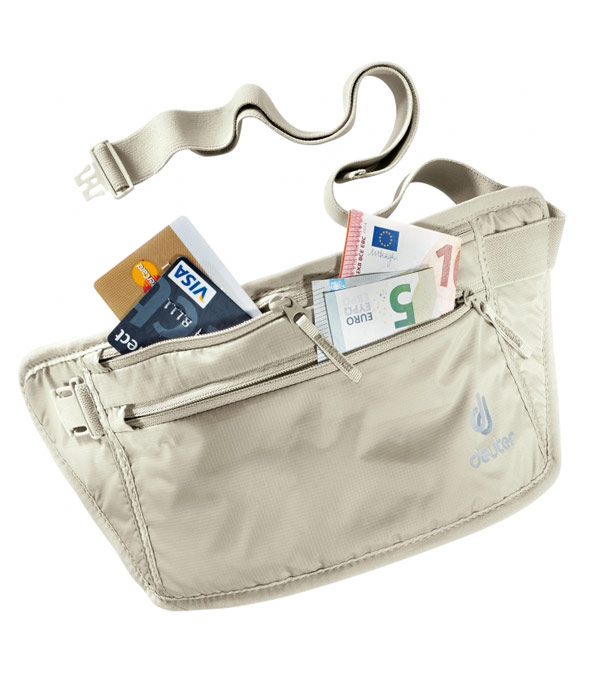 Нательный кошелек Deuter Security Money Belt II sand