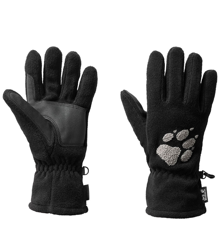 Перчатки Jack Wolfskin PAW GLOVES (M) Black