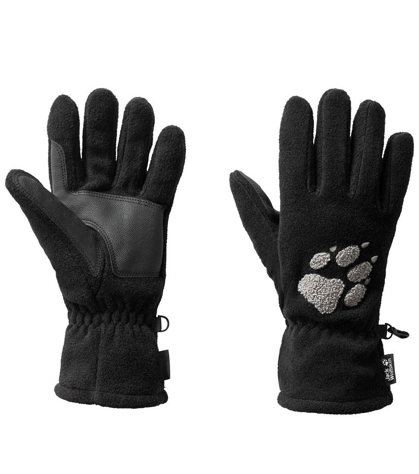 Перчатки Jack Wolfskin PAW GLOVES (M) Black