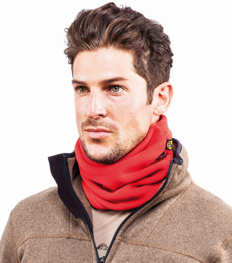 Шарф Buff Polar Neckwarmer solid Harbor