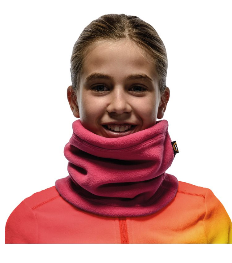 Шарф Buff Polar Neckwarmer solid dragon fruit