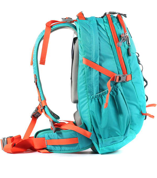 Рюкзак Polar 2170 mint-orange