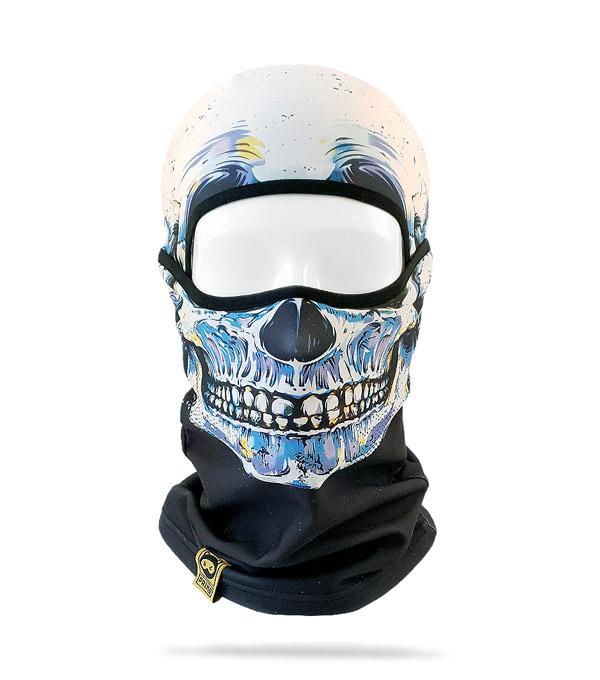 Балаклава PRIMO Аlpha Skull-Blue