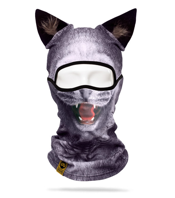 Балаклава PRIMO Alpha Beast Gray-Cat