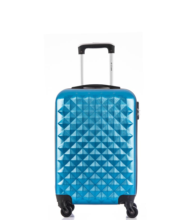 Малый чемодан спиннер Lcase Phatthaya blue (60 см)
