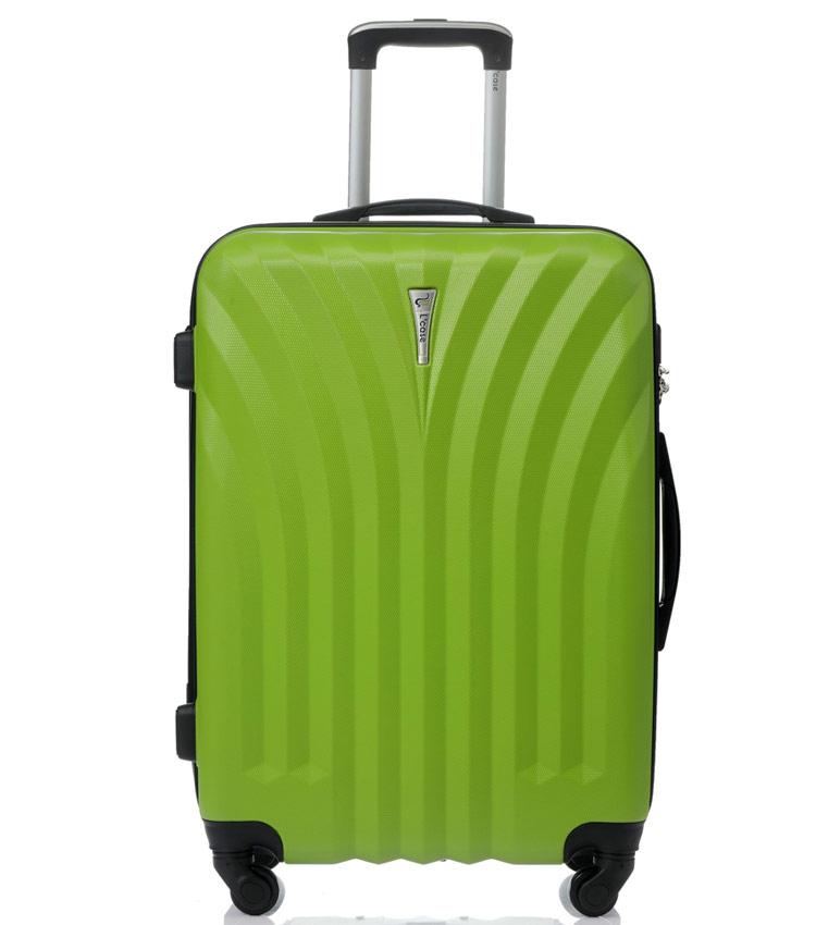Средний чемодан спиннер Lcase Phuket green (69 см)