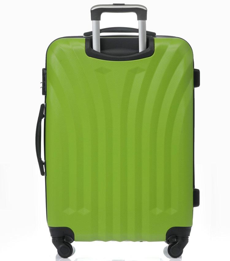 Большой чемодан спиннер Lcase Phuket green (76 см)